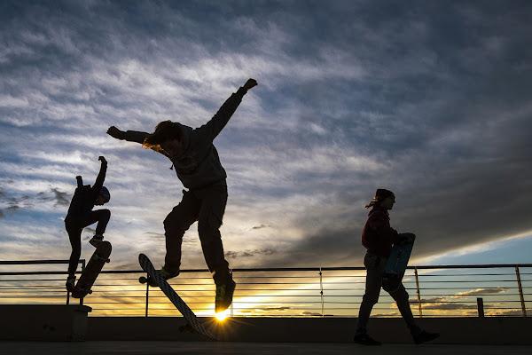 The skaters di Alberto_Caselli