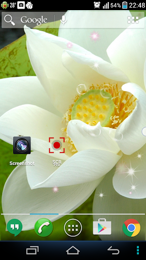 White Lotus Live Wallpaper