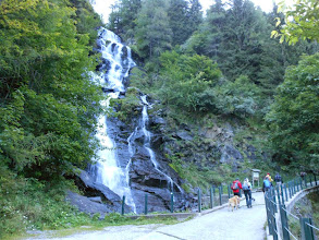 Photo: Passato la cascata della Val Sambuzza...