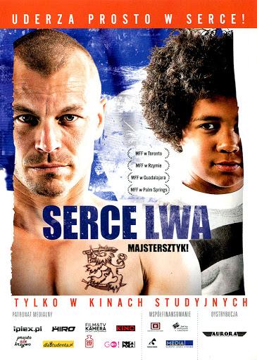 Przód ulotki filmu 'Serce Lwa'