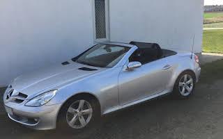 Mercedes SLK Rent Midtjylland