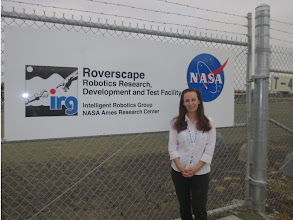 Photo: At the Roverscape! I have to say it: Ames Roverscape is bigger than JPL roverscape ;)