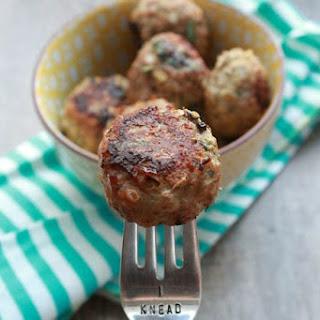 Quinoa Turkey Meatballs.