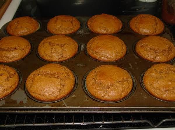 Pam's Original Sour Cream Gingerbread Muffins Recipe