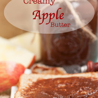 Creamy Apple Butter