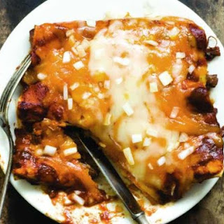 Shredded Beef Enchiladas With Three-Chile Sauce From 'The Homesick Texan's Family Table'