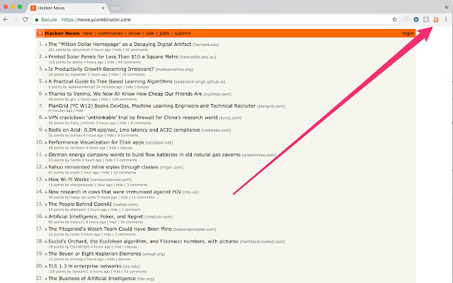 Hacker News Stack