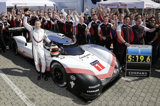 The record-breaking Porsche 919 Evo