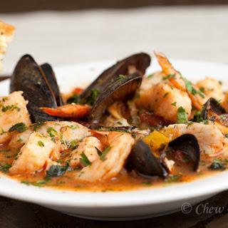Cioppino – Seafood Stew.