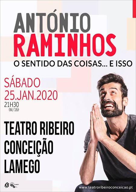 António Raminhos traz o seu novo espetáculo a Lamego