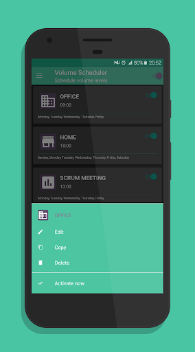 Volume Scheduler Pro - Schedule Volume Profiles app for Android screenshot