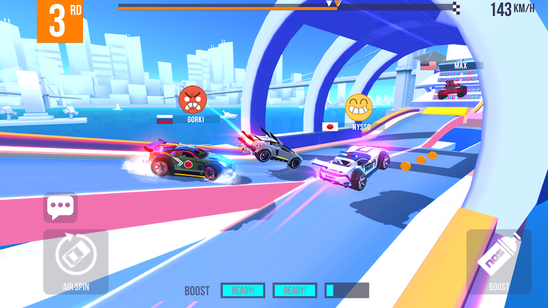 SUP Multiplayer Racing Screenshot 3