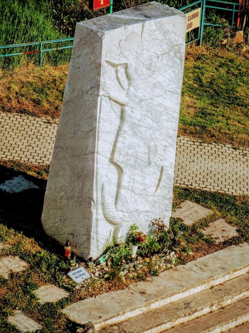 Esztergom - Hídoltalmazó Boldogasszony a Mária Valéria híd esztergomi hídfőjénél