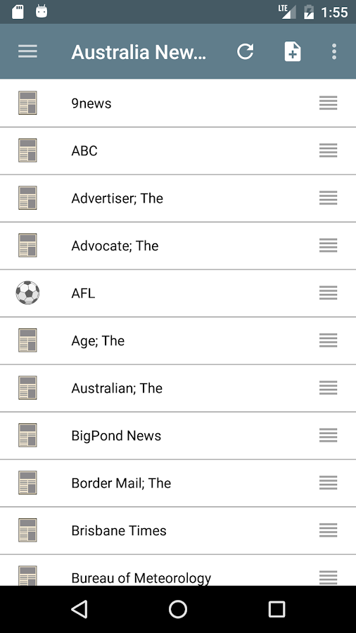 Australia Newspapers- screenshot
