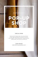 Designer Pop-Up Shop - Pinterest Pin item