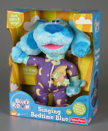 Stuffed animal:Singing Bedtime Blue