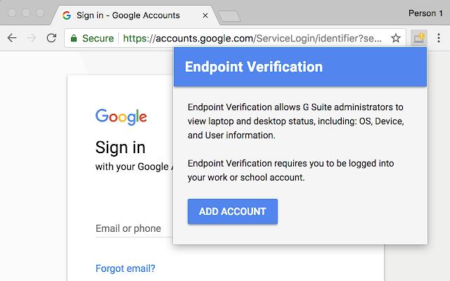 Endpoint Verification