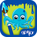 Kids Paint Aquatic Animals icon