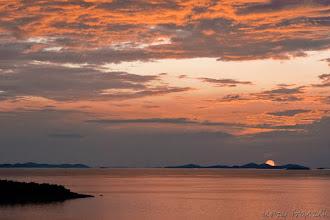 Photo: Zachód słońca w Dalmacji :-)