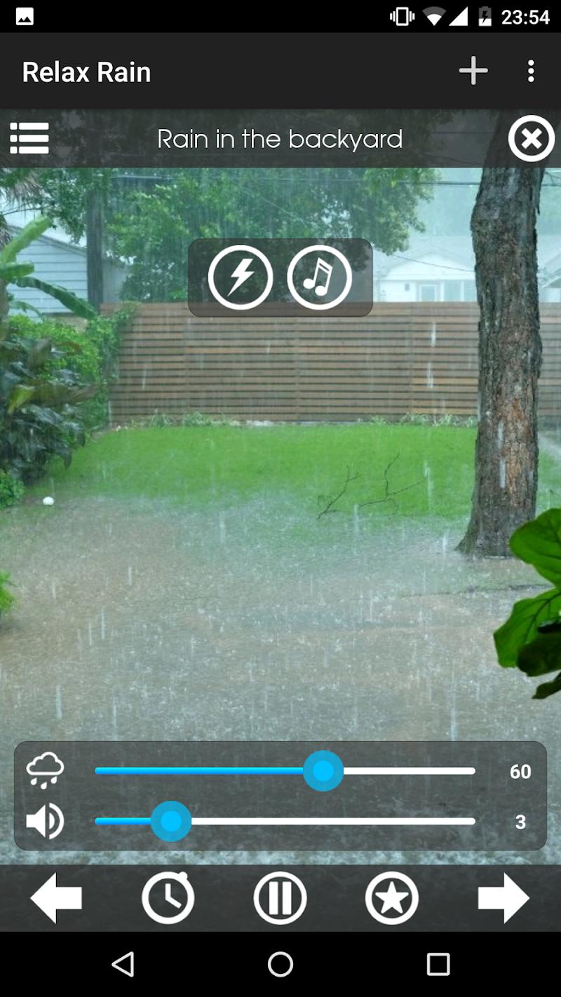 Relax Rain ~ Rain Sounds Screenshot 5