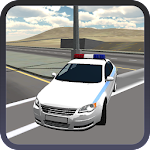 Police Car Driver 3D Simulator Icon