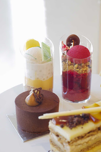 Luscious desserts at Burch and Purchese Sweet Studio in Melbourne, Australia.