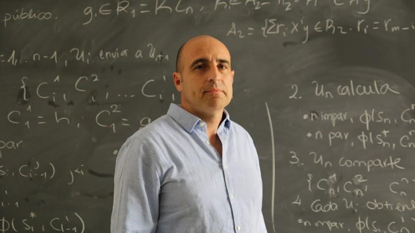 Juan Antonio López, en la UAL