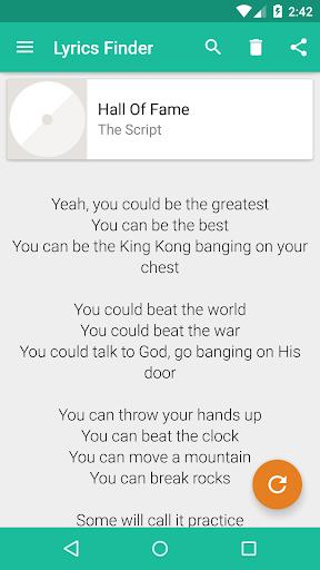 歌詞ファインダー:インスタント歌詞