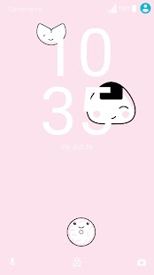 XPERIA™ Harajuku Theme Screenshot