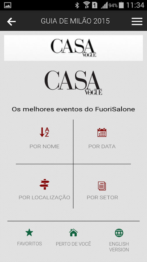 Casa Vogue Mobile- screenshot