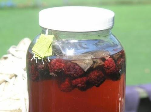 Blackberry Sun Tea