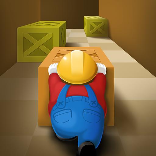 Push Maze Puzzle Icon