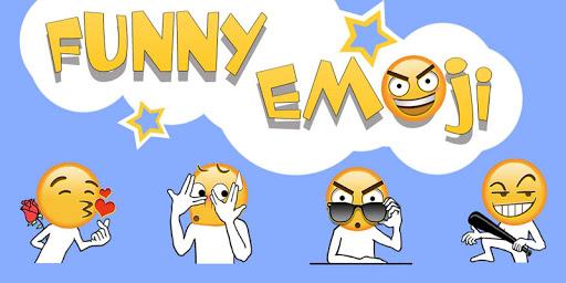 Keyboard Sticker Funny emoji Screenshot