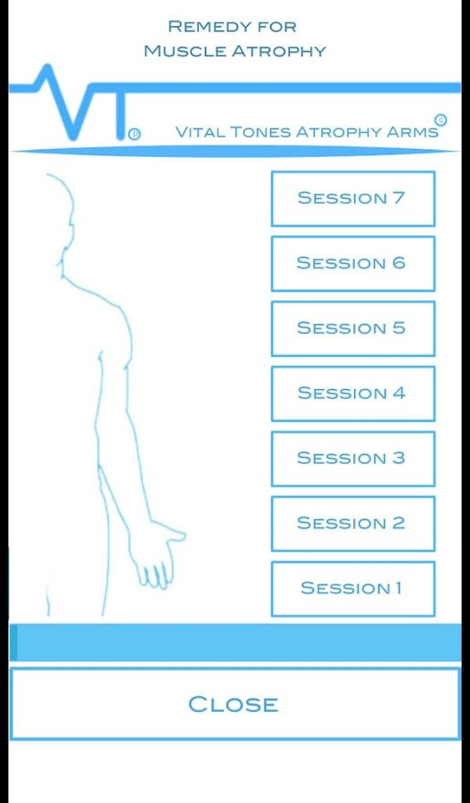 Vital Tones Stimulation Arms- screenshot