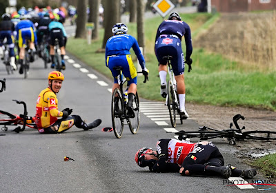 Meteen waaiers maar vooral crashes eisen slachtoffers: opgaves van Frison, Halvorsen en Van Staeyen
