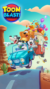 Toon Blast Mod Apk 7567 (Unlimited Lives/Coins/Boosters) 7