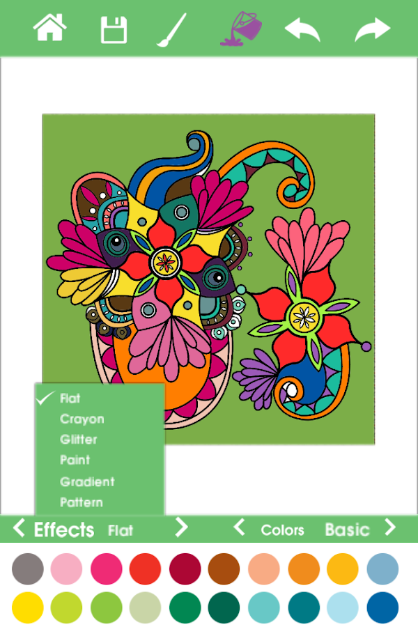 ColorTherapy-Adult Color Book- screenshot