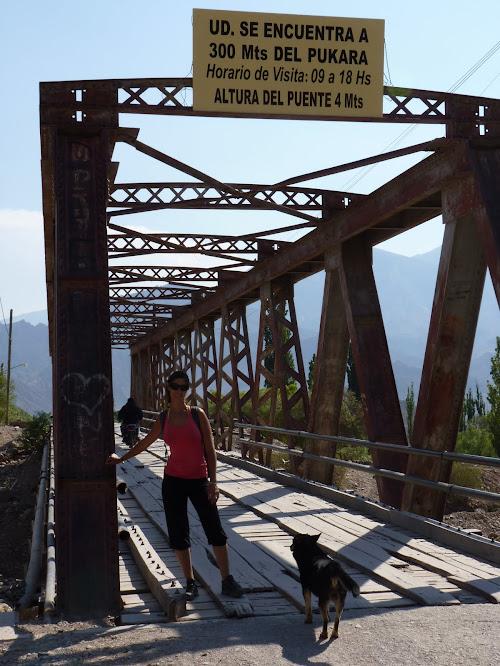 Camino a Pukara de Tilcara