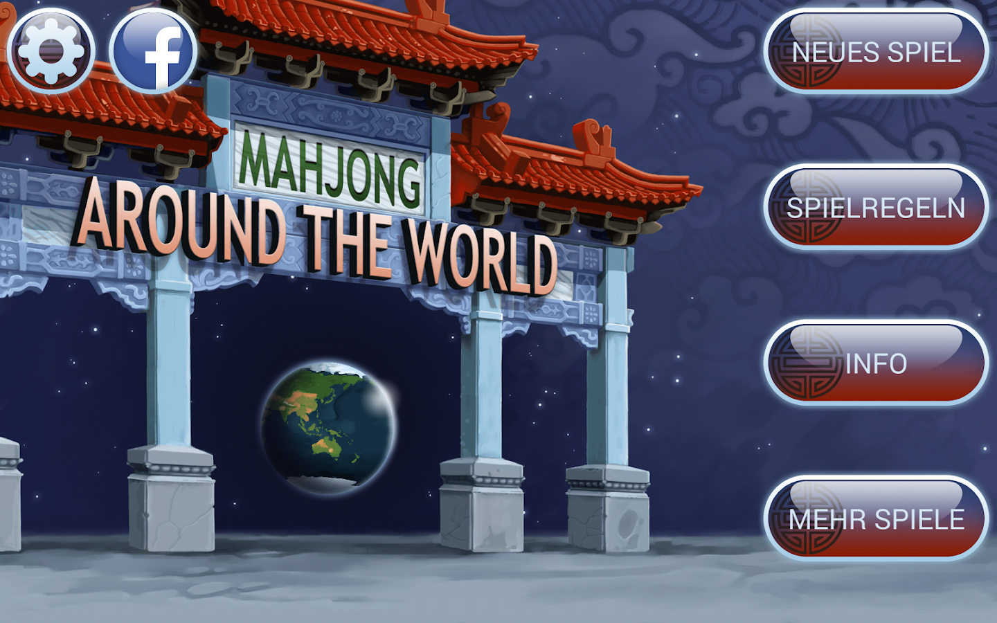 Mahjong Around The World- screenshot