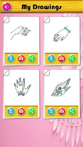 Coloring Fashion Nail Salon 1.0.2 screenshots 8