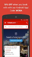 Screenshot of Hotels.com – Hotel Reservation