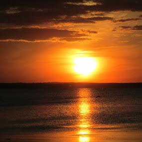 Bay sunset by Debra Rebro - Landscapes Sunsets & Sunrises (  )