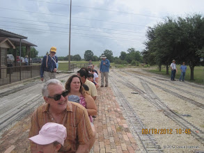 Photo: The train has been loaded and is ready to depart.   HALS 2012-0818 David Hannah photo