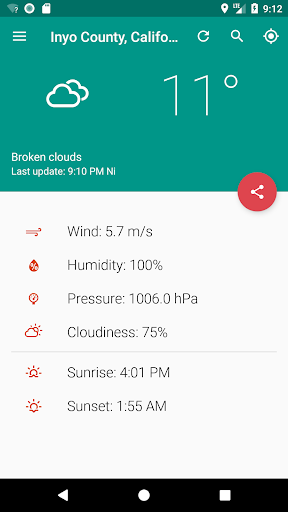 Your local weather 4.7.2 screenshots 2
