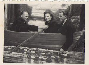 Photo: Petrutė Pauliūtė, Juozas Valužis (Janinos Burbaitės archyvas)