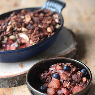 Vegan Apple Berry Crumble Recipes