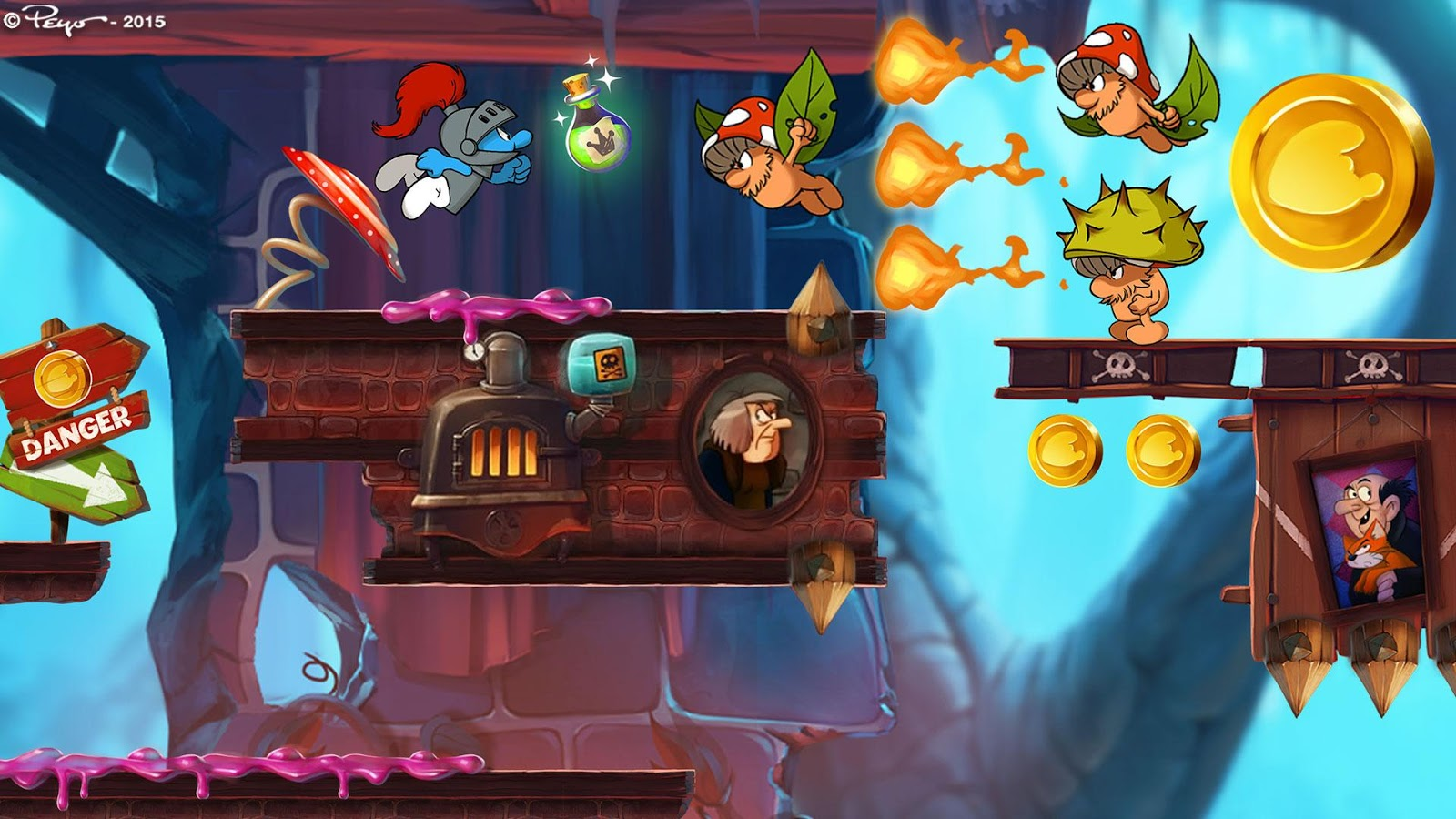 Smurfs Epic Run - Fun Platform Adventure- screenshot