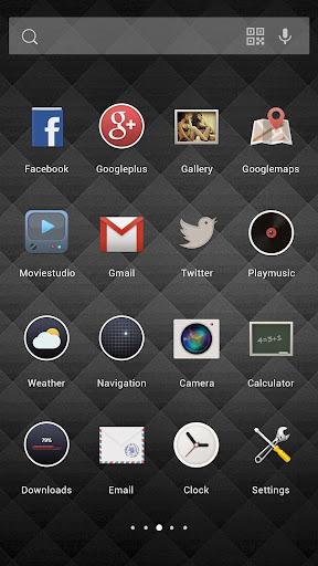 黑色極簡主題-Solo桌面|玩個人化App免費|玩APPs