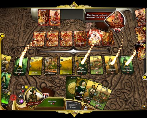 Code Triche War of Omens Deck Builder Collectible Card Game APK MOD (Astuce) screenshots 1