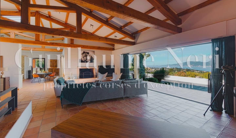 Villa with pool and garden Porticcio